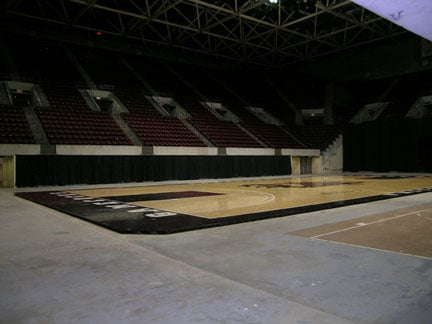 The Carolina Coliseum, once used for USC basketball and the Columbia Inferno hockey, sees little use since the Inferno decided to voluntarily suspend its 2008-2009 season.