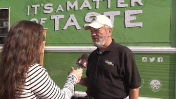 Dupre explains what is unique about the Food Truck Rodeo