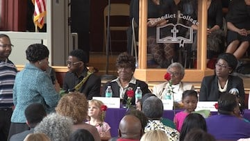 A panel of the shooting victim's family members answered questions about their loved ones and reactions to the tragedy.