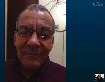 Marcos Costa gave an interview via Skype to tell us about his experience with the Zika virus