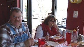 Customers enjoy the Creole and Cajun food offered at The Lost Cajun.