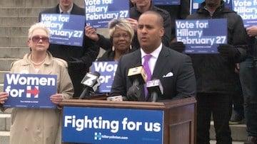 S.C. House of Representatives member Todd Rutherford endorses Secretary Clinton