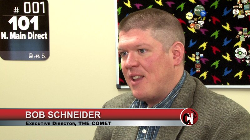Dr. Bob Schneider is happy with COMET renovations, but he still has work left to do.