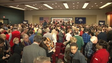 South Carolina residents packed the house for Rubio's event Wednesday.