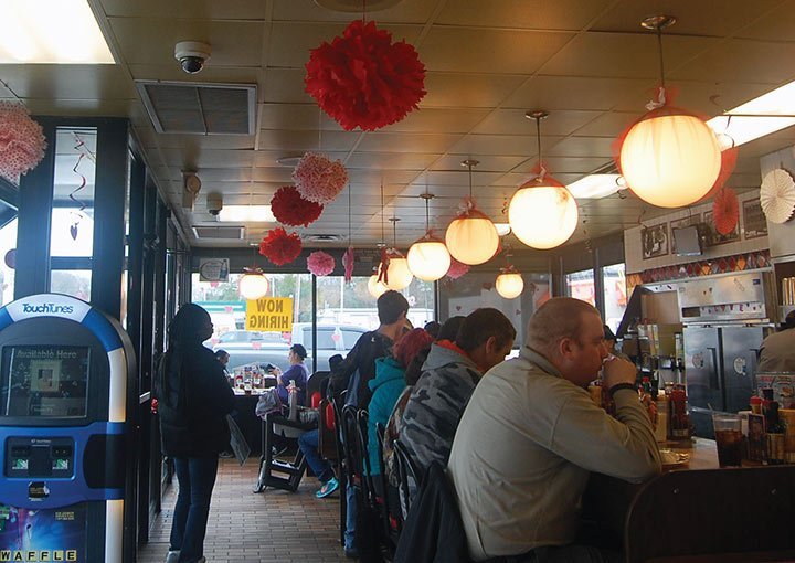 Lee expects a good turnout this year. The Waffle House in Lexington, on South Lake Drive, is about 65% booked for the dinner. Lee said they are taking reservations as late as the day of.
