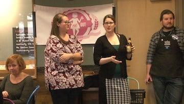 South Carolina Girls Pint Out leaders Jodi Bonig and April Blake say women can enjoy beer just as well as men.