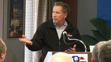 John Kasich wants American's to know his primary focus is the country's national debt.