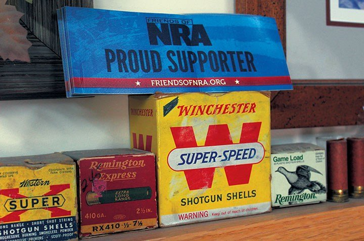 Among the walls and shelves of Gerald Stoudemire's gun and supply store in Little Mountain, you will find signs of support for the National Rifle Association.