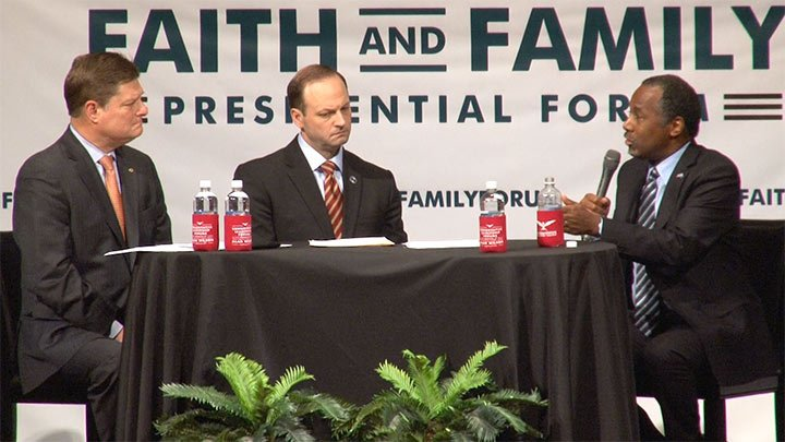 Dr. Ben Carson says the key to strengthening America is making families a priority.