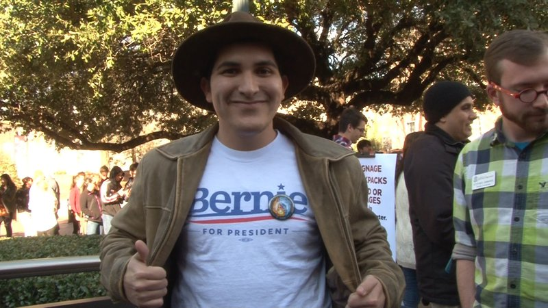 Student Vincent Felix says Sanders made the right choice coming to USC.