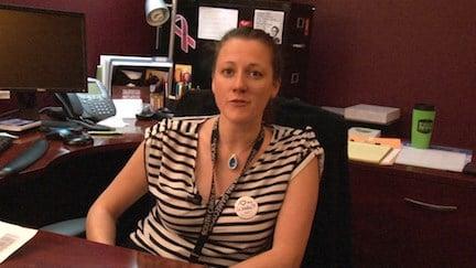 Student Health Nutritionist Jennifer Bernound says she fully supports Carolina BeYOUtiful's initiative.