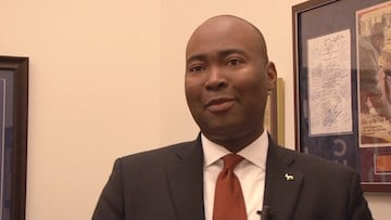 Democratic State Chair Jaime Harrison says Clinton has the South Carolina advantage.