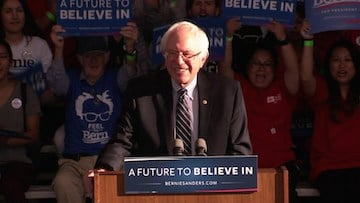 Sanders thinks positively about his campaign's future in the elections.