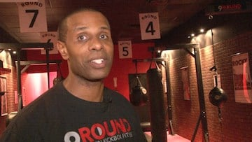 Owner of the '9 Round' on Forest Drive says the gym is gaining popularity.