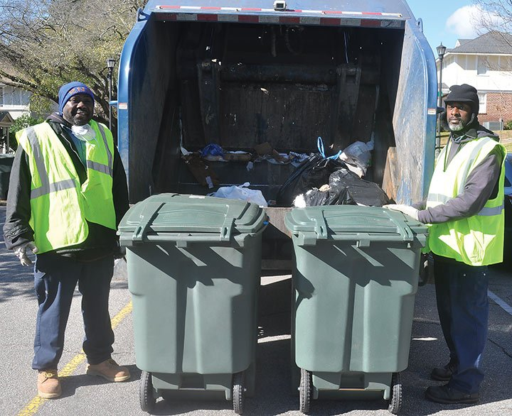 City of Columbia Solid Waste Division workers hope people will stop knocking garbage cans over and scattering trash to make their jobs more safe and less difficult.